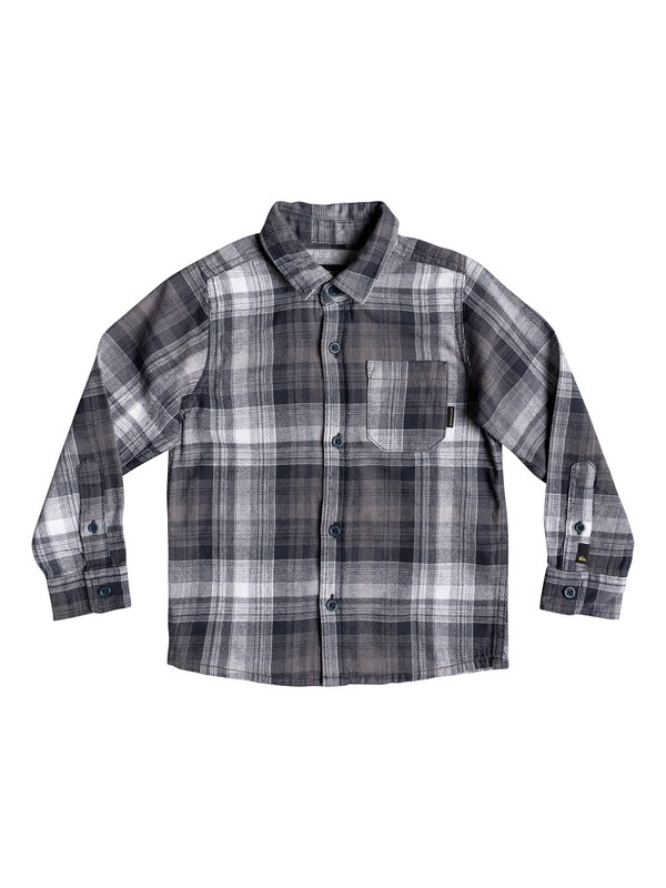 0 Boy's 2-7 Fatherfly Long Sleeve Shirt Blue EQKWT03146 Quiksilver