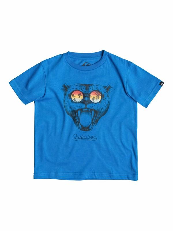 0 Classic Sunset Cat - T-shirt  EQKZT03026 Quiksilver