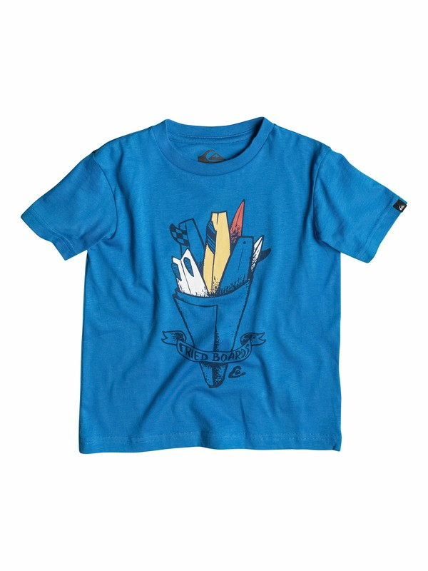 0 Classic Board Fritz - T-shirt  EQKZT03037 Quiksilver