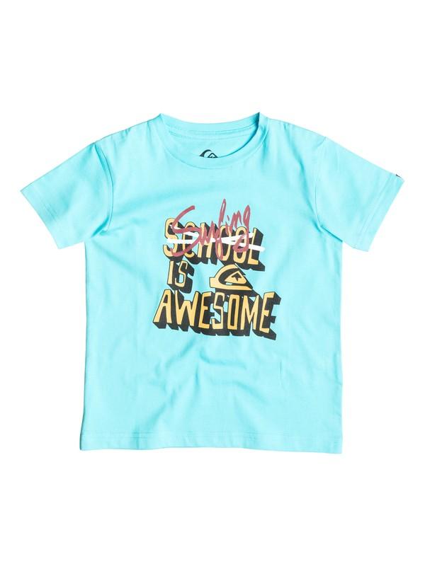 0 Classic Good Vibes - T-shirt  EQKZT03049 Quiksilver