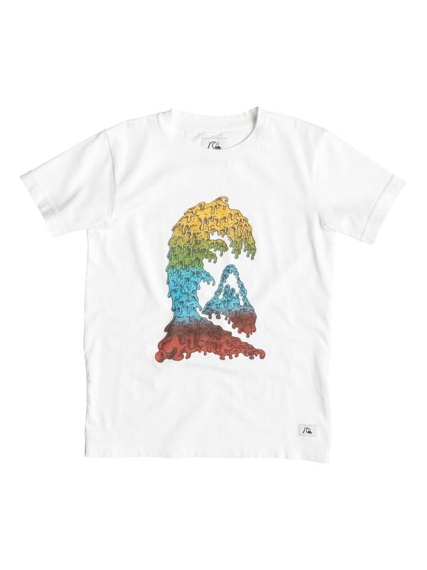 0 Garment D Candle Wave - T-shirt  EQKZT03061 Quiksilver