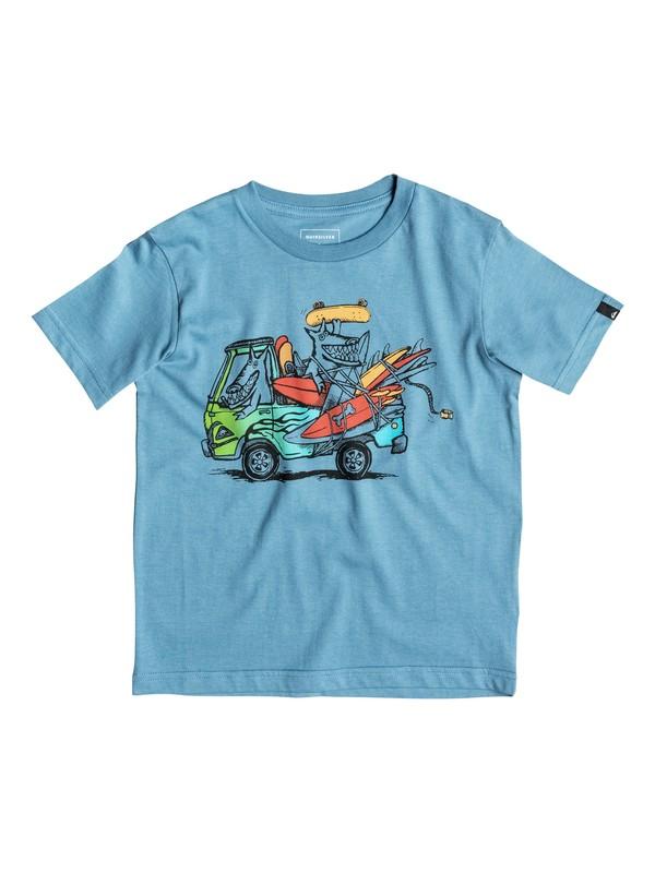 0 Classic Happy Days - Tee-Shirt  EQKZT03064 Quiksilver