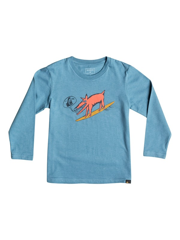 0 Classic Dogi Surf - Tee-Shirt à manches longues  EQKZT03069 Quiksilver