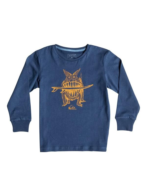 0 Carbon Brun'S Dog - Tee-Shirt à manches longues  EQKZT03072 Quiksilver