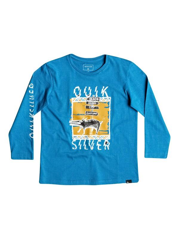 0 Classic Never Lost - Tee-Shirt à manches longues  EQKZT03085 Quiksilver