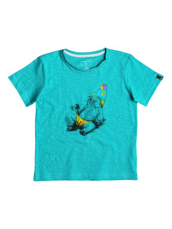 0 Slub Local Mostly - Tee-Shirt  EQKZT03088 Quiksilver