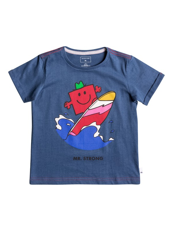0 Boy's 2-7 Mr Strong Classic Tee  EQKZT03119 Quiksilver