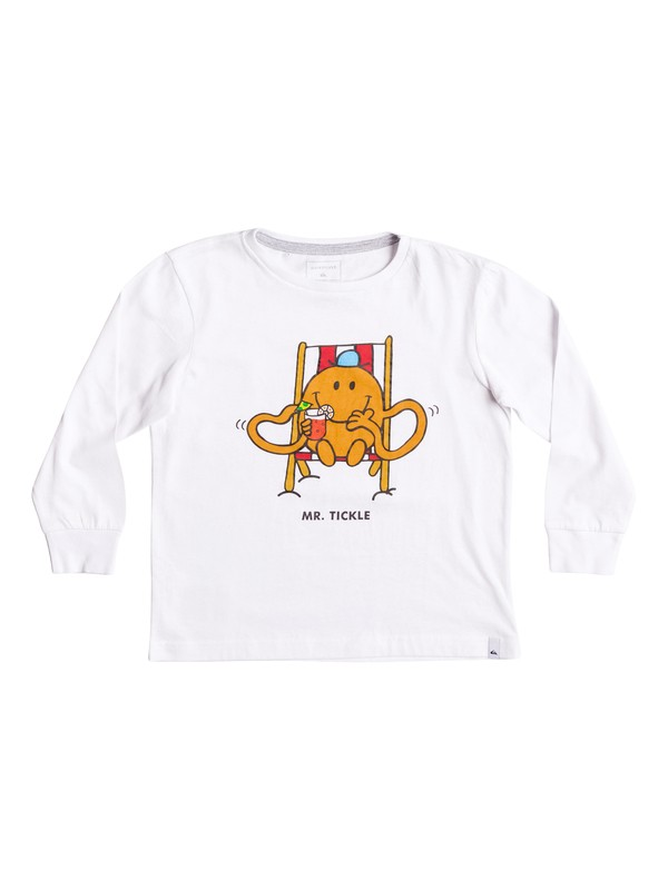 0 Mr Tickle - Long Sleeve T-Shirt  EQKZT03120 Quiksilver