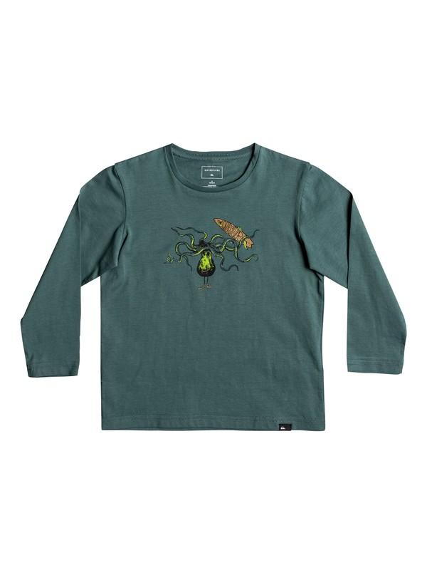 0 Classic Los Poulpos - T-Shirt à manches longues pour Garçon 2-7 ans  EQKZT03127 Quiksilver