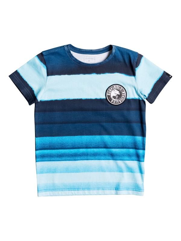0 Resine Stripe - Tee-Shirt pour Garçon 2-7 ans  EQKZT03145 Quiksilver