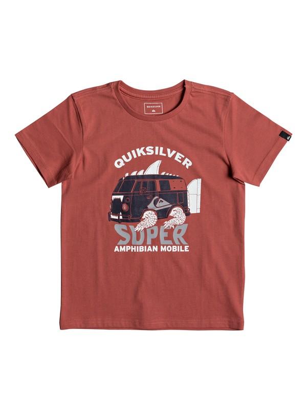 0 Classic Amphibian - T-Shirt for Boys 2-7 Pink EQKZT03189 Quiksilver