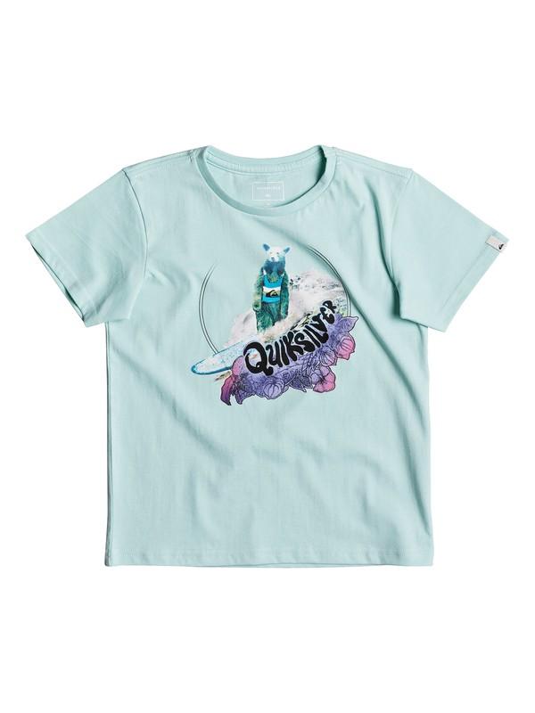 0 Classic Log Bear - T-Shirt Blue EQKZT03190 Quiksilver