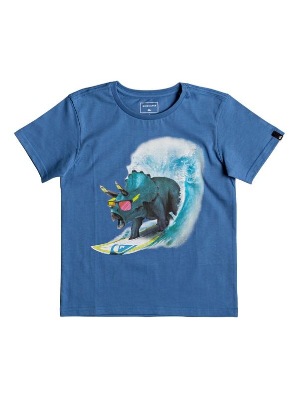 0 Classic Off - T-Shirt for Boys 2-7 Blue EQKZT03191 Quiksilver