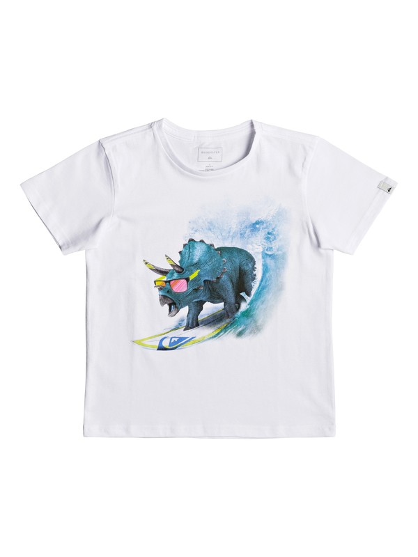 0 Classic Off - T-Shirt for Boys 2-7 White EQKZT03191 Quiksilver