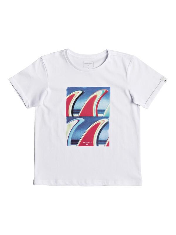 0 Classic Fin Fanatic - T-Shirt White EQKZT03192 Quiksilver