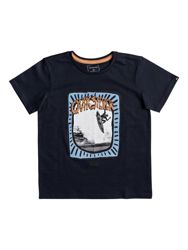 0 Classic Hulu Pena - T-Shirt for Boys 2-7 Blue EQKZT03193 Quiksilver