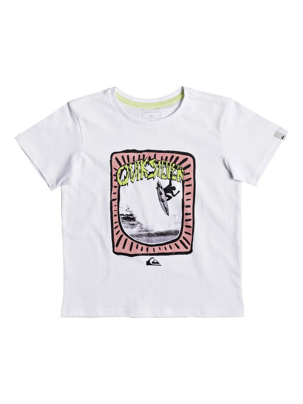 0 Classic Hulu Pena - T-Shirt for Boys 2-7 White EQKZT03193 Quiksilver