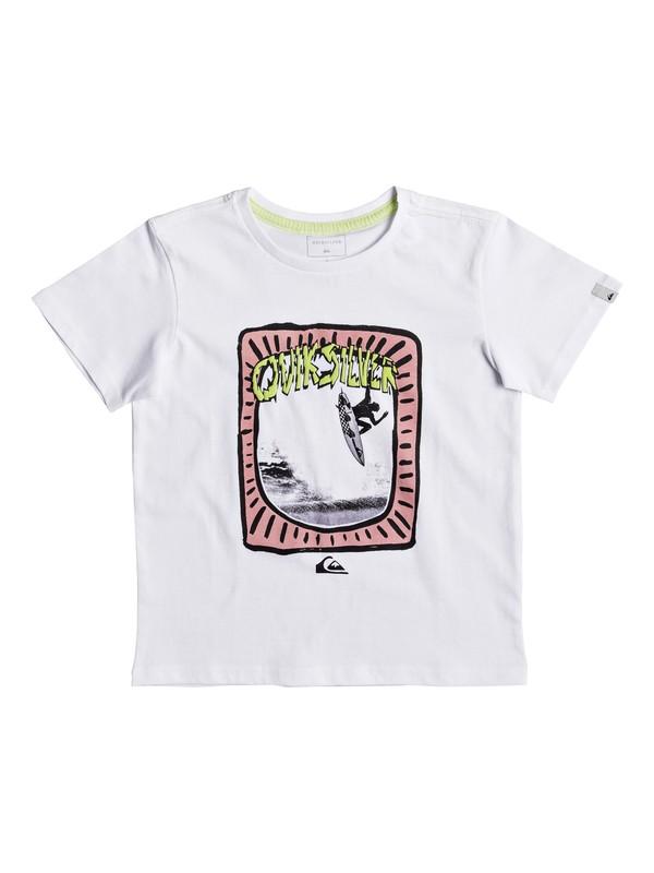 0 Classic Hulu Pena - T-Shirt White EQKZT03193 Quiksilver