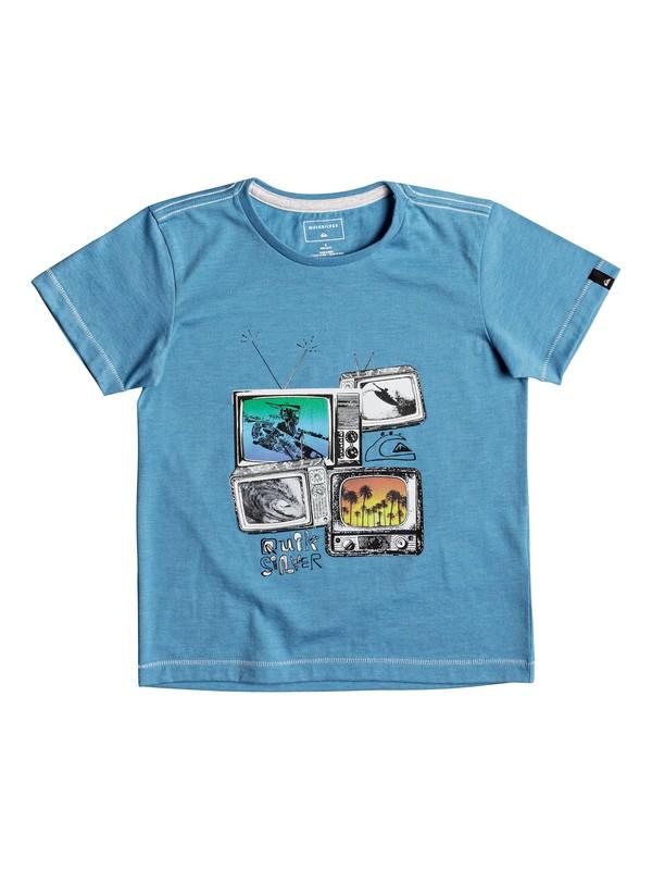 0 Heather Super TV - T Shirt col rond pour Garçon 2-7 ans  EQKZT03205 Quiksilver