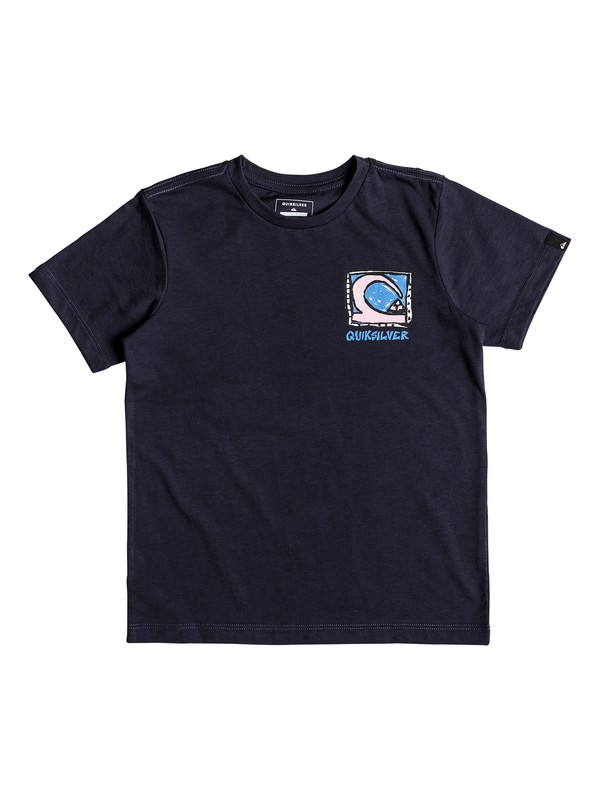 0 Anti UV Dens Way - T-Shirt Blue EQKZT03210 Quiksilver