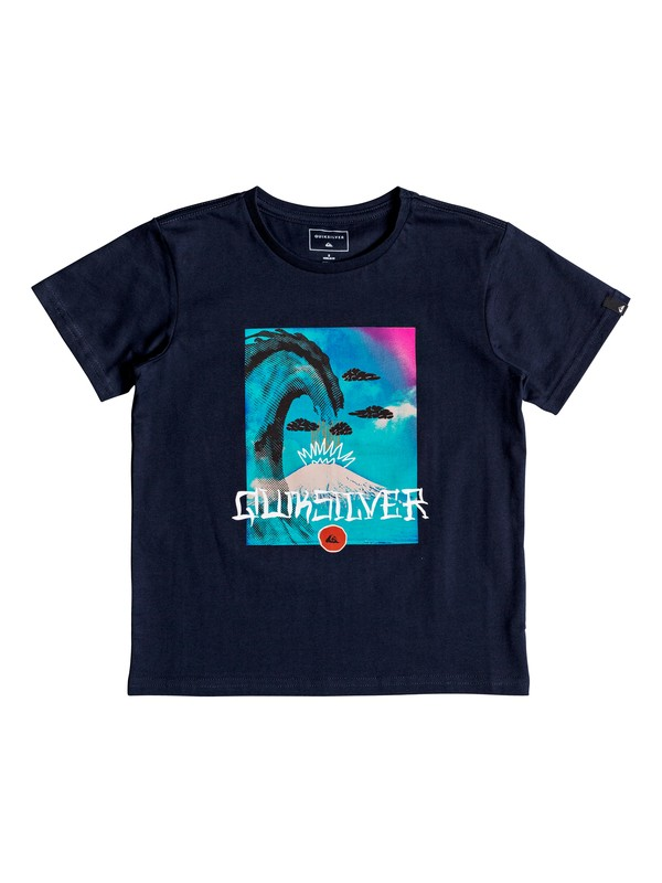 0 Super Fuji - T-Shirt for Boys 2-7 Blue EQKZT03216 Quiksilver