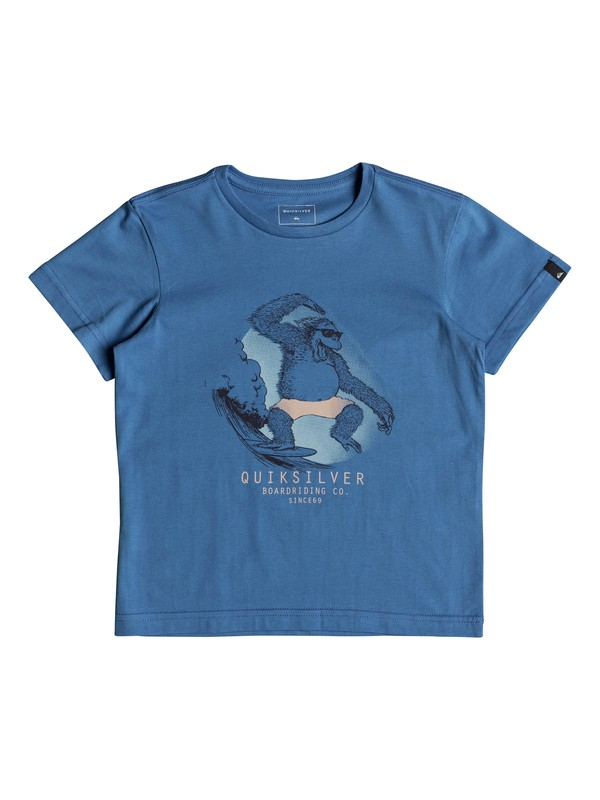 0 Freestyle - T-Shirt for Boys 2-7 Blue EQKZT03220 Quiksilver