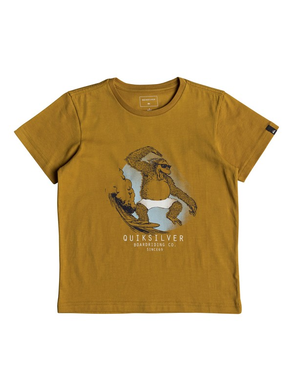 0 Freestyle - T-Shirt for Boys 2-7 Orange EQKZT03220 Quiksilver