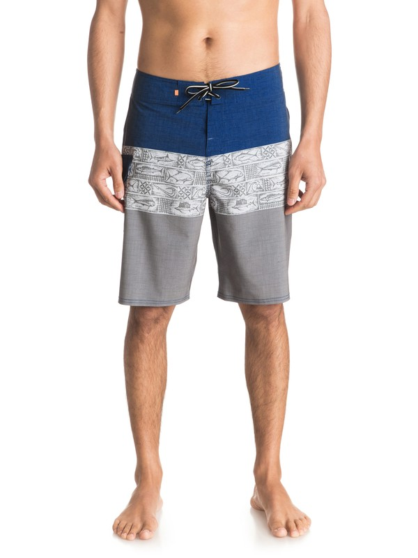 "0 Waterman Fairway Tri Block 20"" Boardshorts  EQMBS03001 Quiksilver"