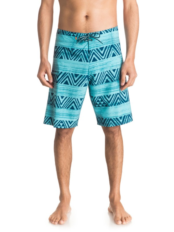 "0 Waterman Tribal Stripe 20"" Boardshorts  EQMBS03005 Quiksilver"