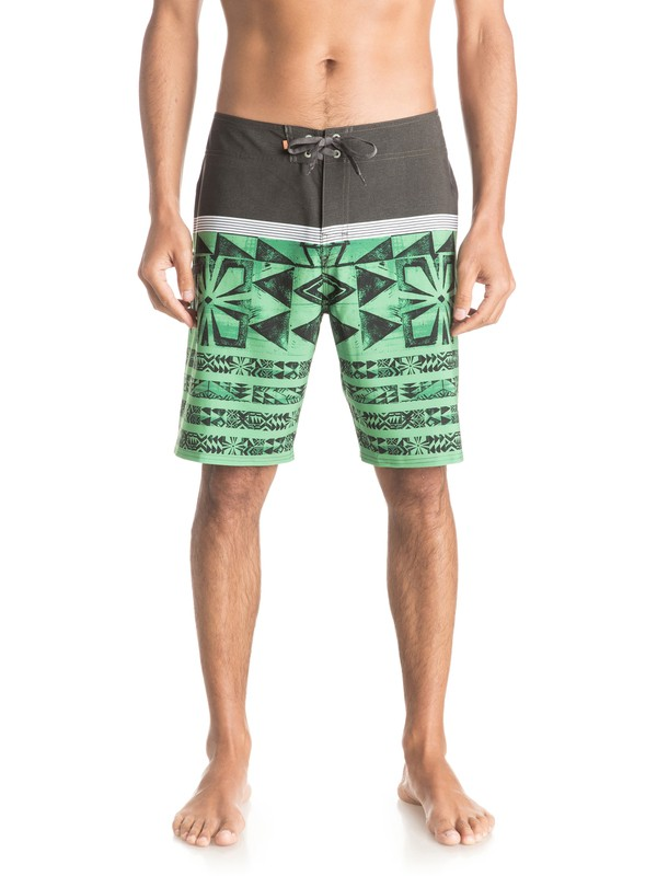 "0 Waterman Ocean Warrior 20"" Boardshorts  EQMBS03011 Quiksilver"