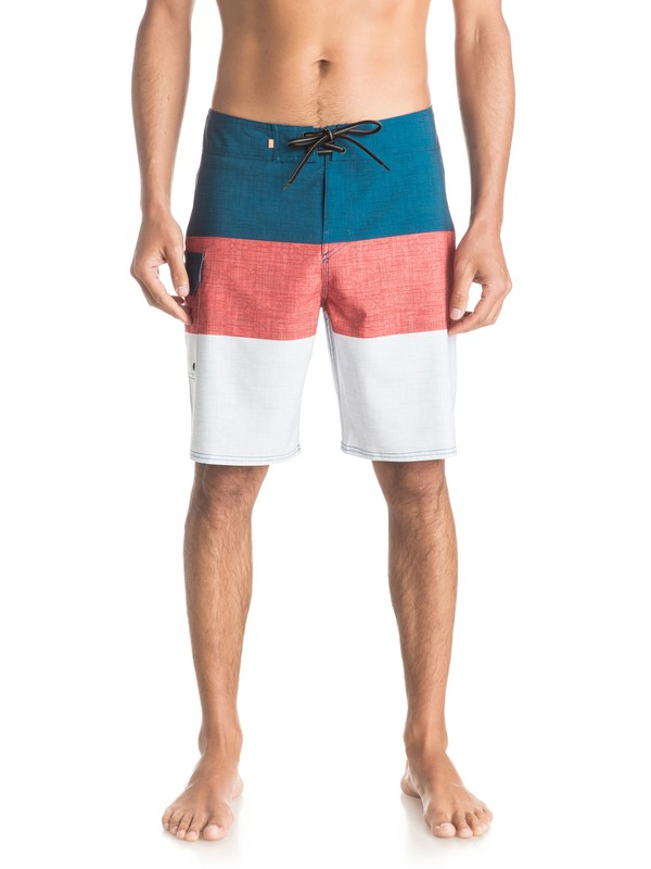 "0 Waterman Fairway Tri Block 20"" Boardshorts  EQMBS03016 Quiksilver"