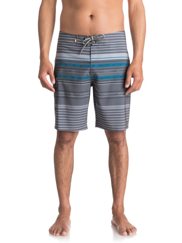 "0 Waterman Inca Stripe 20"" Boardshorts  EQMBS03018 Quiksilver"
