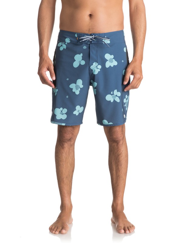 "0 Waterman Pelai 19"" Boardshorts Blue EQMBS03021 Quiksilver"