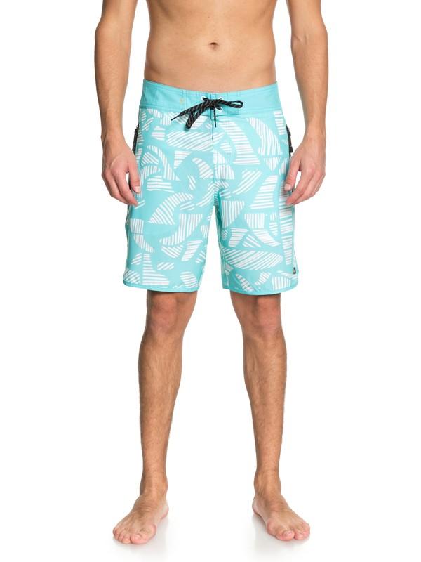 """0 Men  Odysea Waterman de 19"""" Boardshorts Azul EQMBS03036 Quiksilver"""