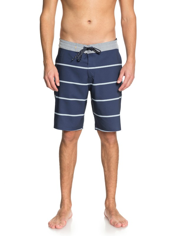"0 Waterman Liberty Overboard 20"" - Boardshorts Blue EQMBS03039 Quiksilver"