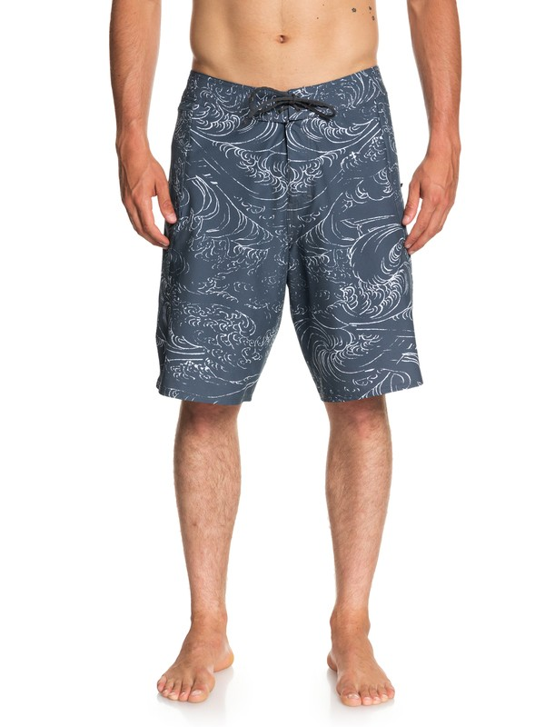 "0 Waterman Paddler 20"" Boardshorts Blue EQMBS03042 Quiksilver"