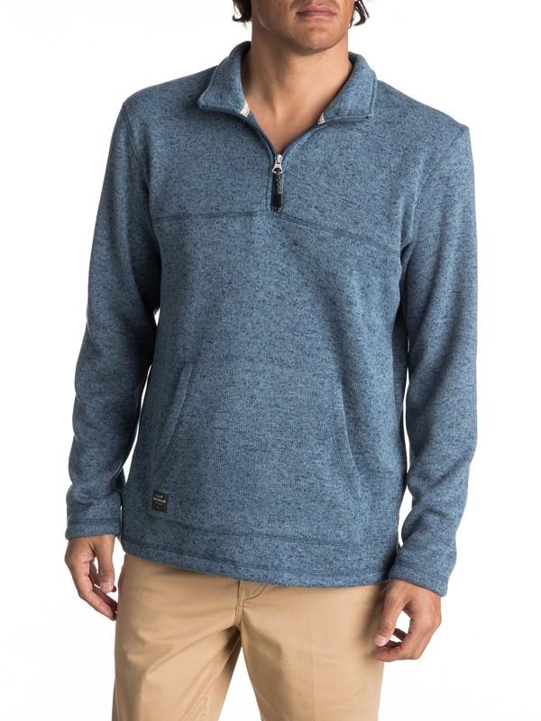 0 Waterman Mormont - Sweatshirt à zip 3/4 pour Homme  EQMFT03003 Quiksilver