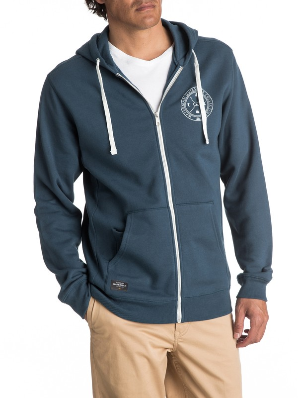 0 Waterman Ring The Bell Zip-Up Hoodie  EQMFT03008 Quiksilver