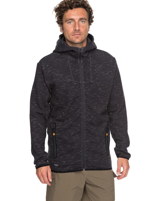 0 Waterman Quiksilver Technical Zip-Up Hoodie  EQMFT03011 Quiksilver