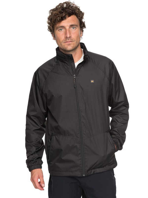 0 Waterman Shell Shock Technical Windbreaker Black EQMJK03011 Quiksilver