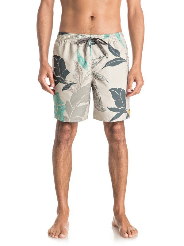 "0 Waterman Cayman Vacay 9"" Volley Boardshorts  EQMJV03000 Quiksilver"