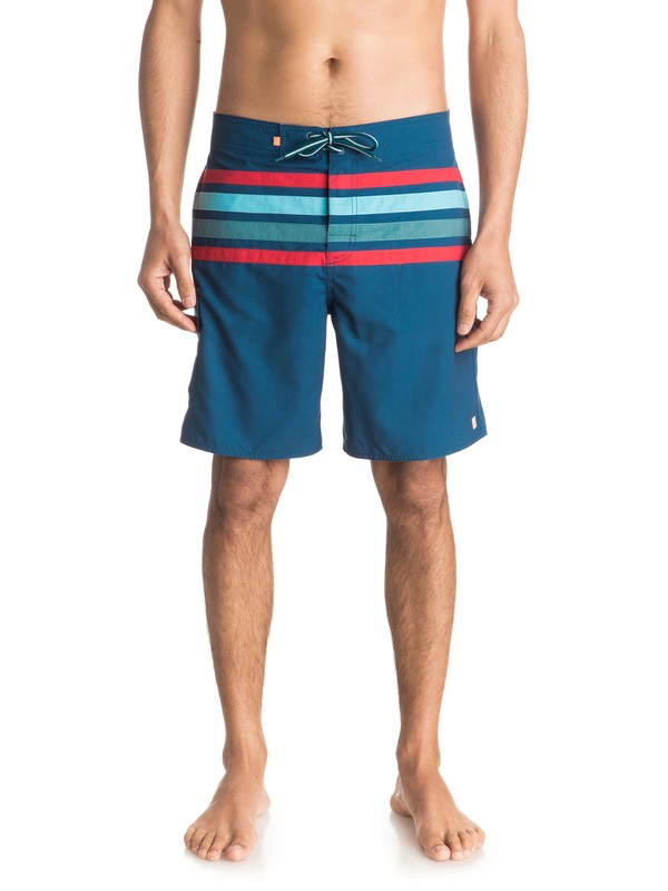 "0 Waterman Melbourne 19"" Volley Boardshorts  EQMJV03008 Quiksilver"