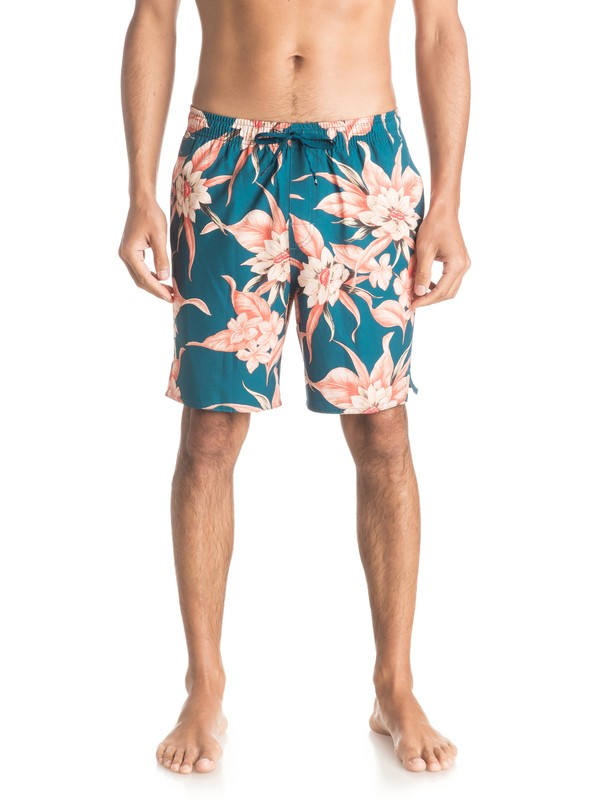 "0 Waterman Cyprest 18"" - Swim Shorts  EQMJV03013 Quiksilver"