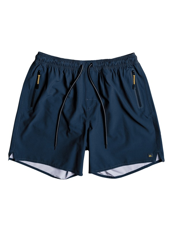 0 Waterman Lockdown Volley Boardshorts Blue EQMJV03022 Quiksilver