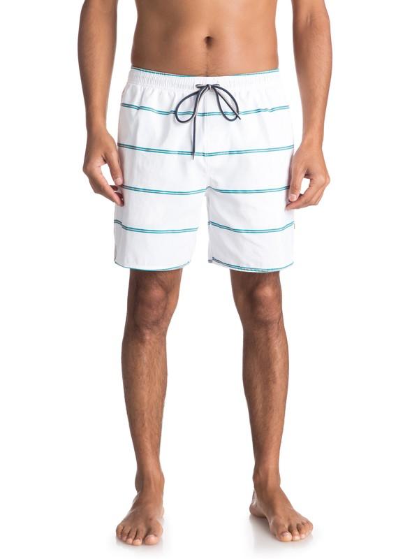 0 Waterman Overboard - Swim Shorts White EQMJV03028 Quiksilver