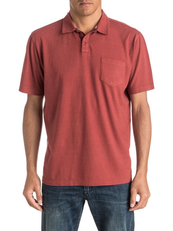 0 Waterman Strolo 6 - Camiseta Tipo Polo Rojo EQMKT03005 Quiksilver