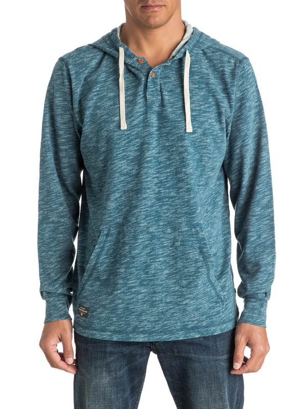 0 Waterman Sandbar - Hooded Long Sleeve Top  EQMKT03008 Quiksilver