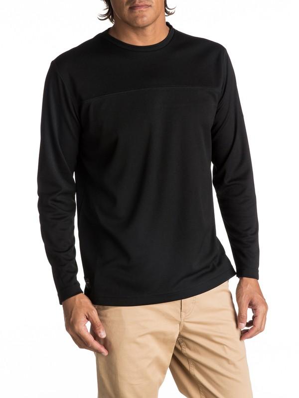 0 Hombres Camiseta Técnica de Manga Larga  Ocean Tracks  EQMKT03022 Quiksilver