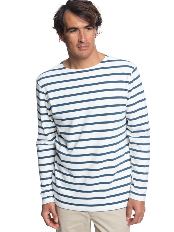 0 Waterman Ocean Transmission - Long Sleeve Top for Men White EQMKT03047 Quiksilver