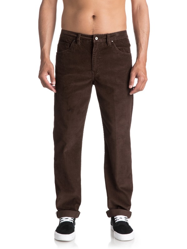 0 Waterman Corded Surf Corduroy Trousers  EQMNP03002 Quiksilver